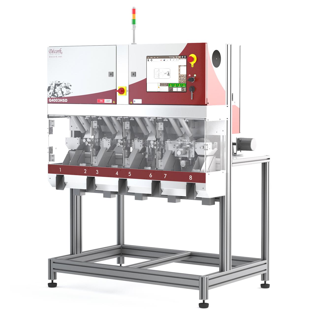 Décork Q4000 Laser System