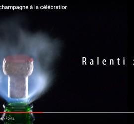 Du bouchon de champagne à la célébration
